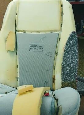 Ремонт поролона сидений