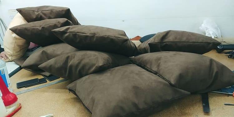 Вышивка на подушках