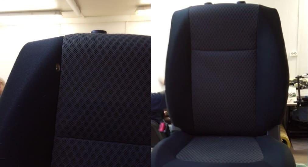 Ремонт ткани сидений